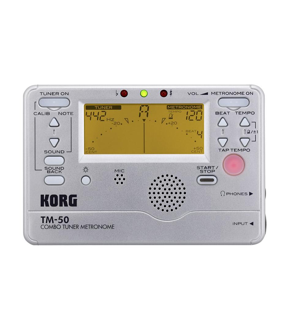 Buy Korg - TM 50 Combo Tuner Metronome