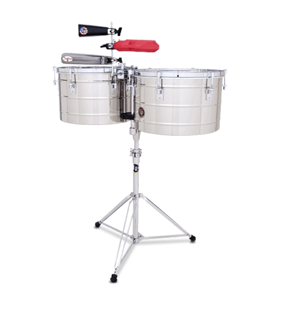 LP - LP258 S 15 16 THUNDER TIMBALE STAINLESS STEEL CR