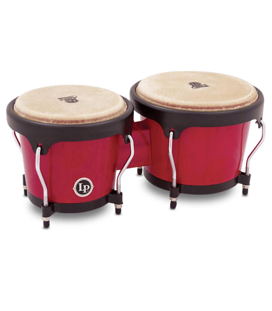 Buy LP - LP Aspire bongos in red wood