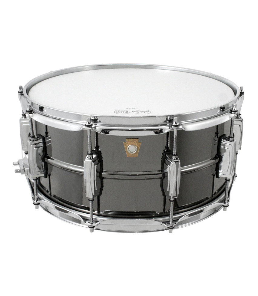 Buy Ludwig LB417 Supra Phonic Black Beauty Snare Drum Melody House
