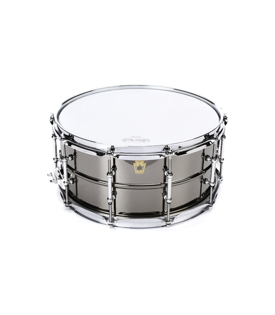 buy ludwig 6 5x14 snare smooth shell tube lugs