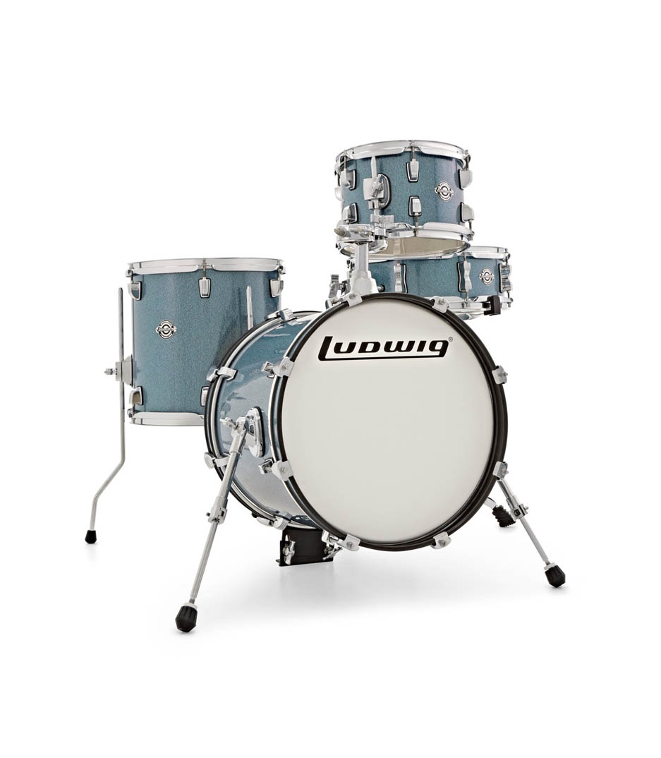 Ludwig - Breakbeats by Questlove Azure Sparkle Finish