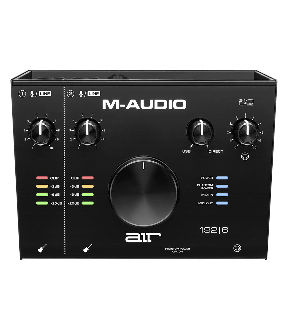 buy maudio air192x6 air 192 6 2 in 2 out usb audio midi io w
