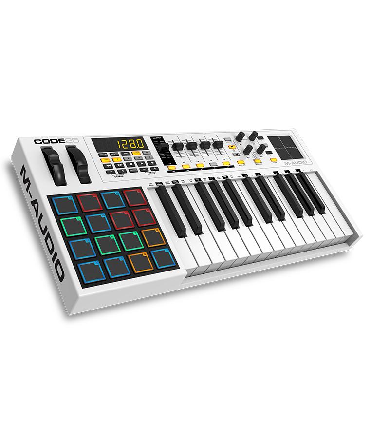 M-Audio - CODE25 USB MIDI Controller - Melody House