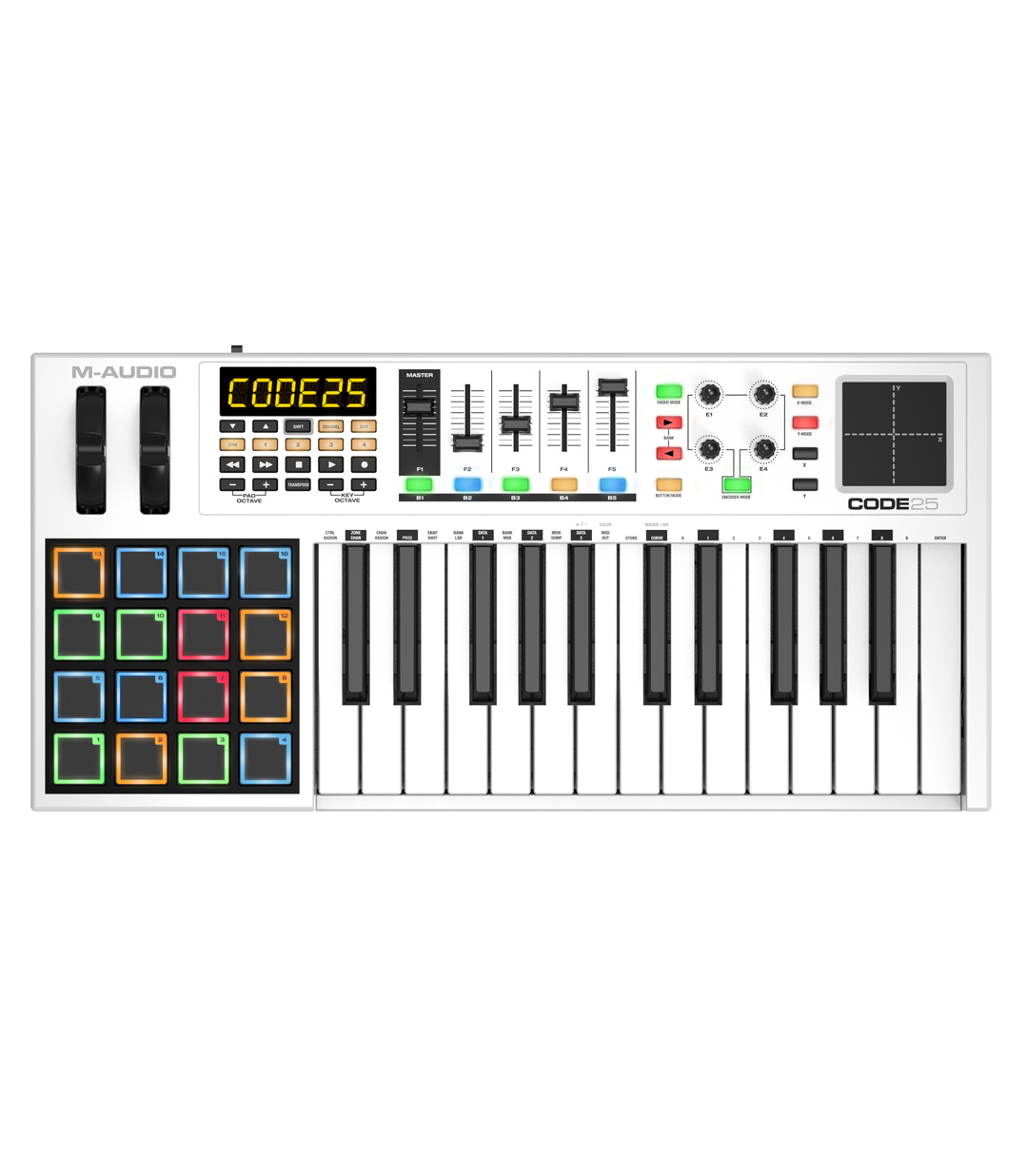 Buy M-Audio CODE25 USB MIDI Controller Melody House