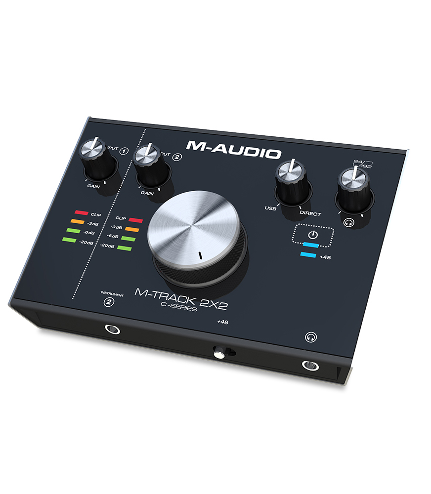 Buy M-Audio MTRACK2X2 USB Audio Interface with Single Mic Melody House