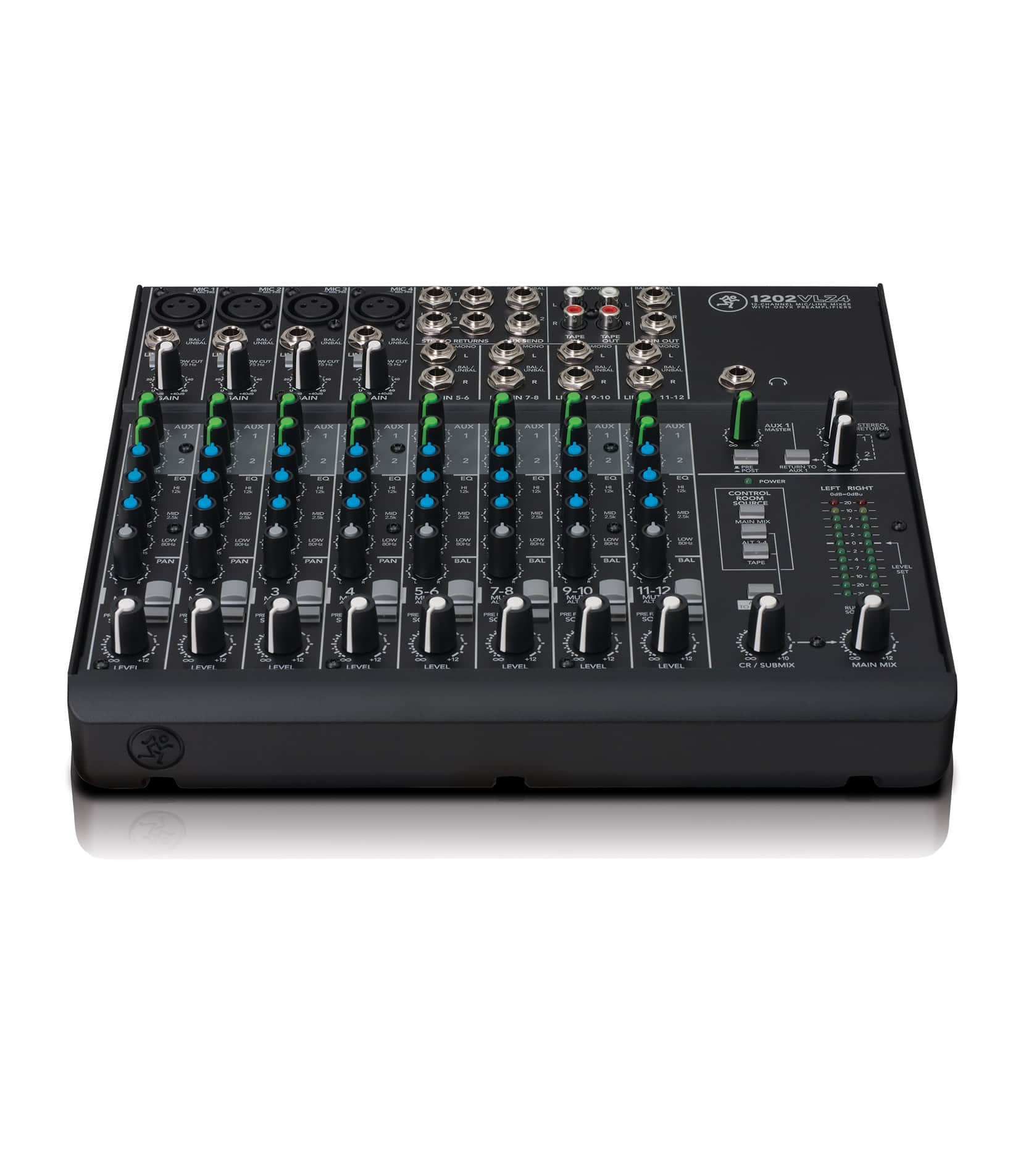 mackie - 1202VLZ4 12 channel Compact Mixer - Melody House