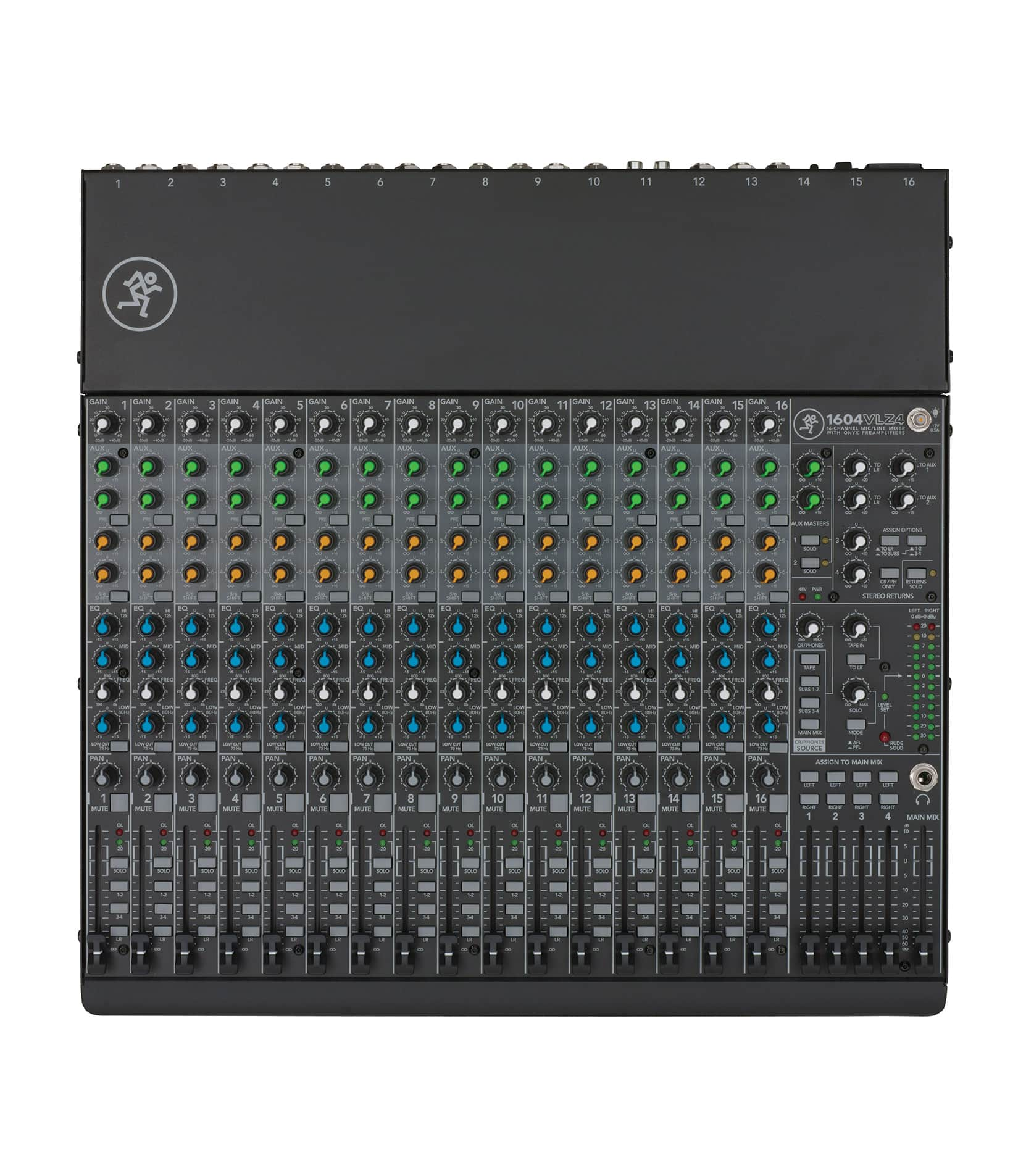 1604VLZ4 16 channel Compact 4 bus Mixer