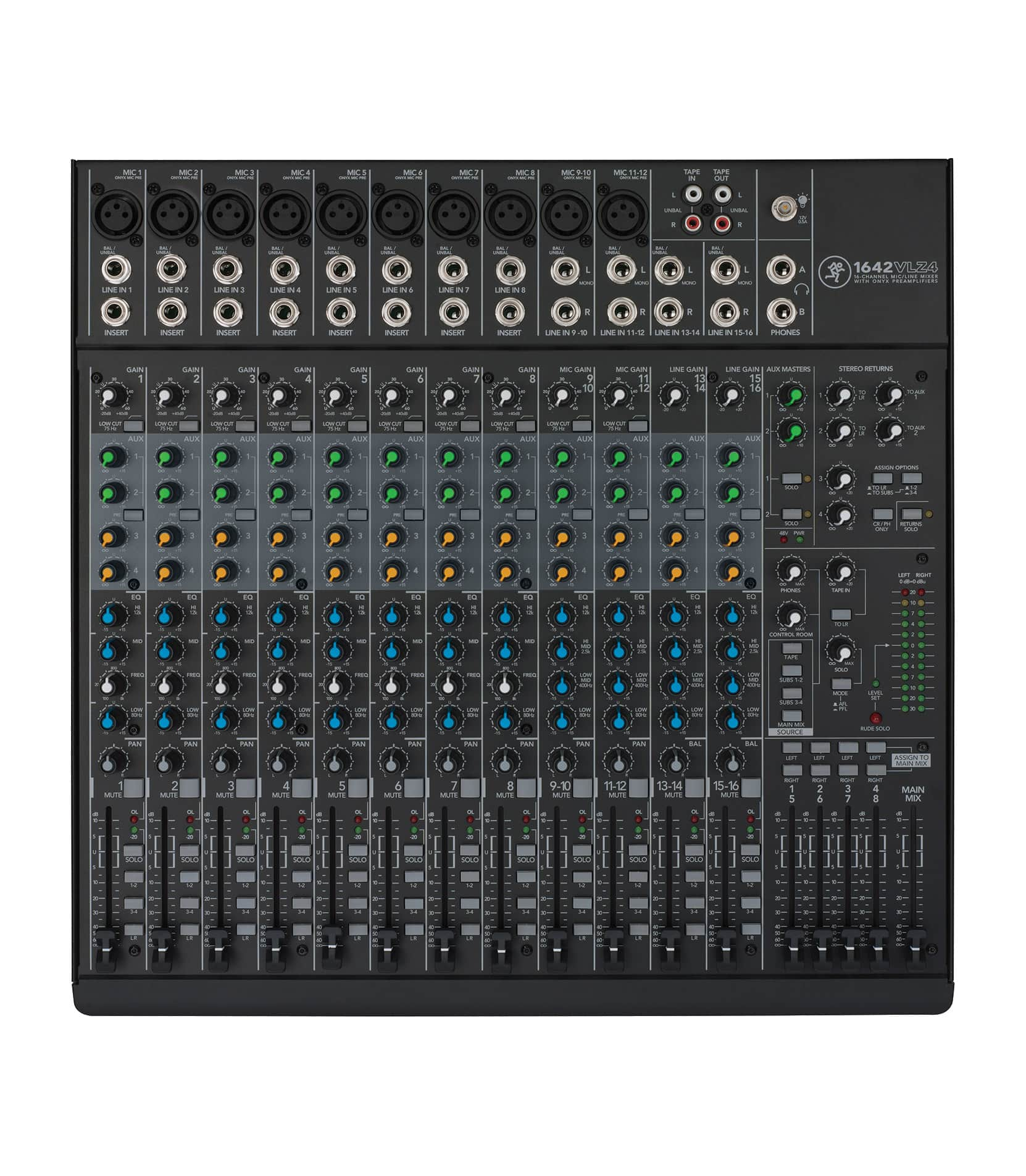 1642VLZ4 16 Channel Compact 4 Bus Mixer