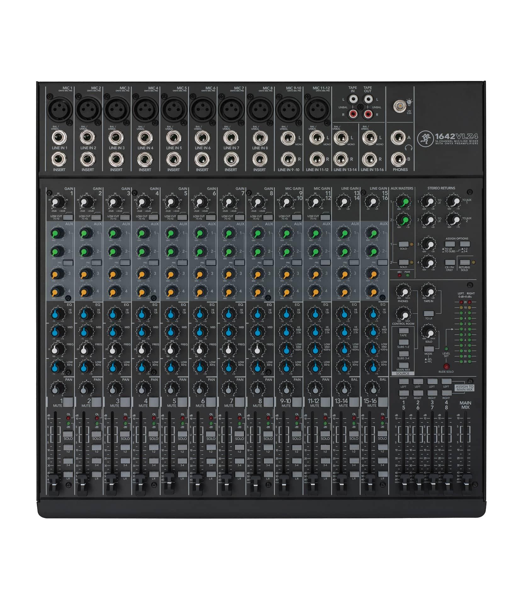 1642VLZ4 16 Channel Compact 4 bus Mixer
