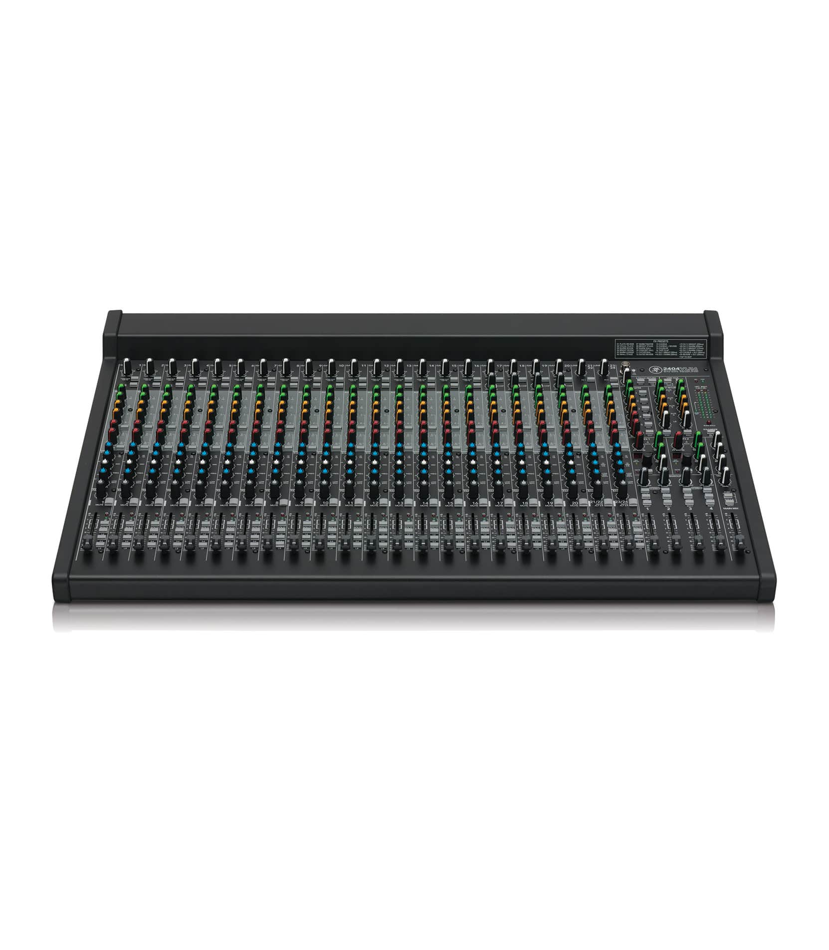 2404VLZ4 24 channel 4 bus FX Mixer with USB - Buy Online