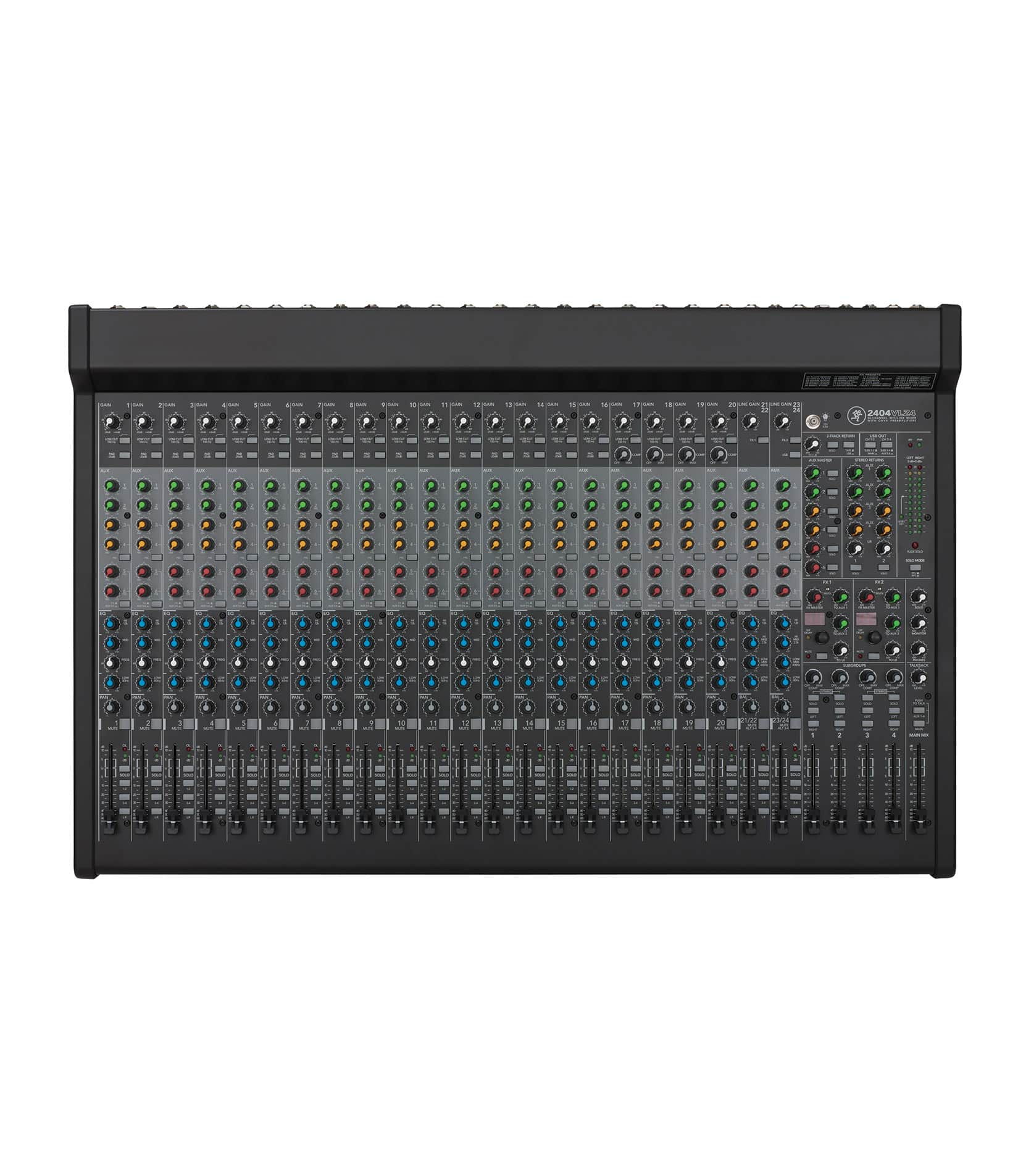 2404VLZ4 24 channel 4 bus FX Mixer with USB