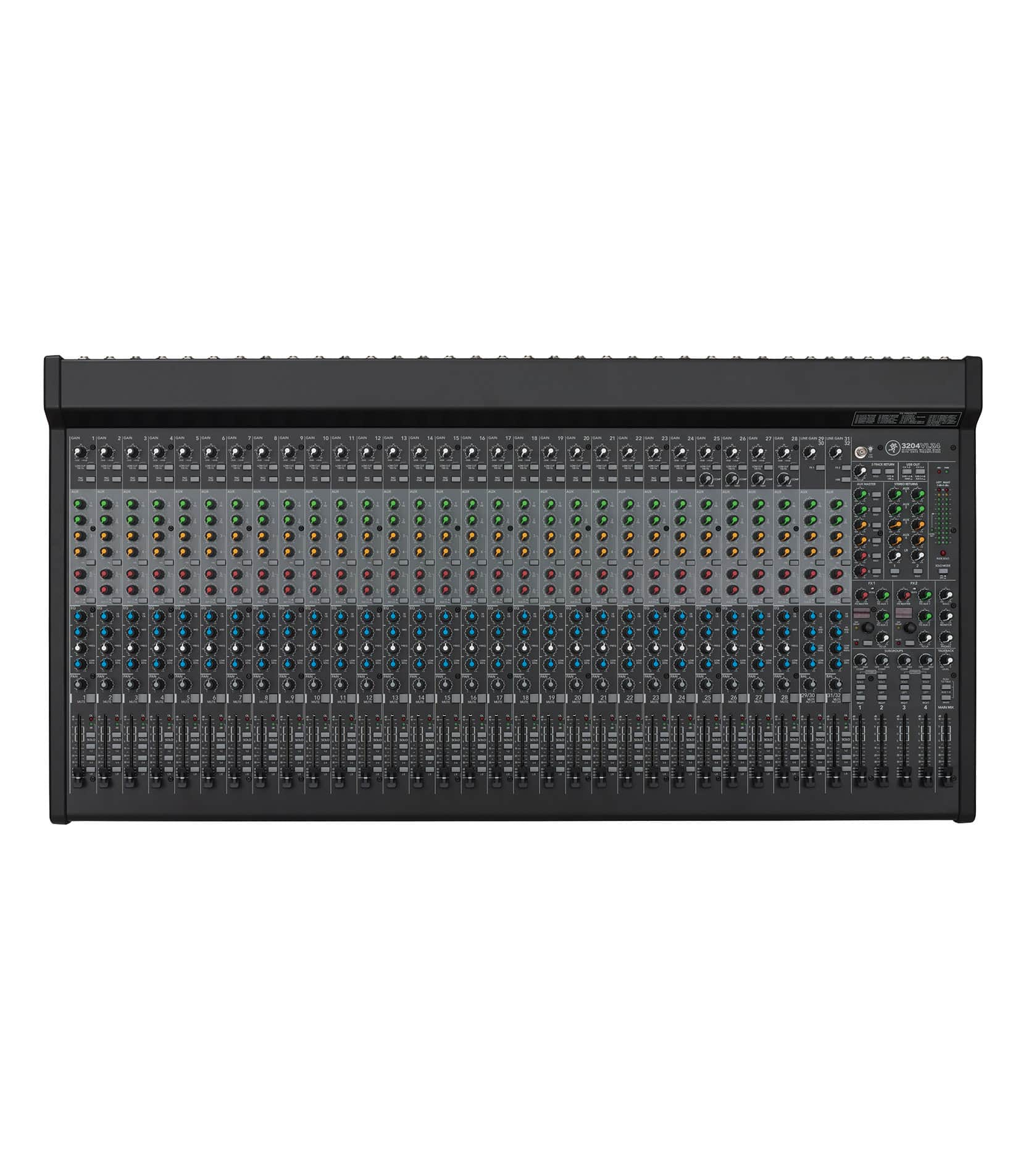 3204VLZ4 32 channel 4 bus FX Mixer with USB