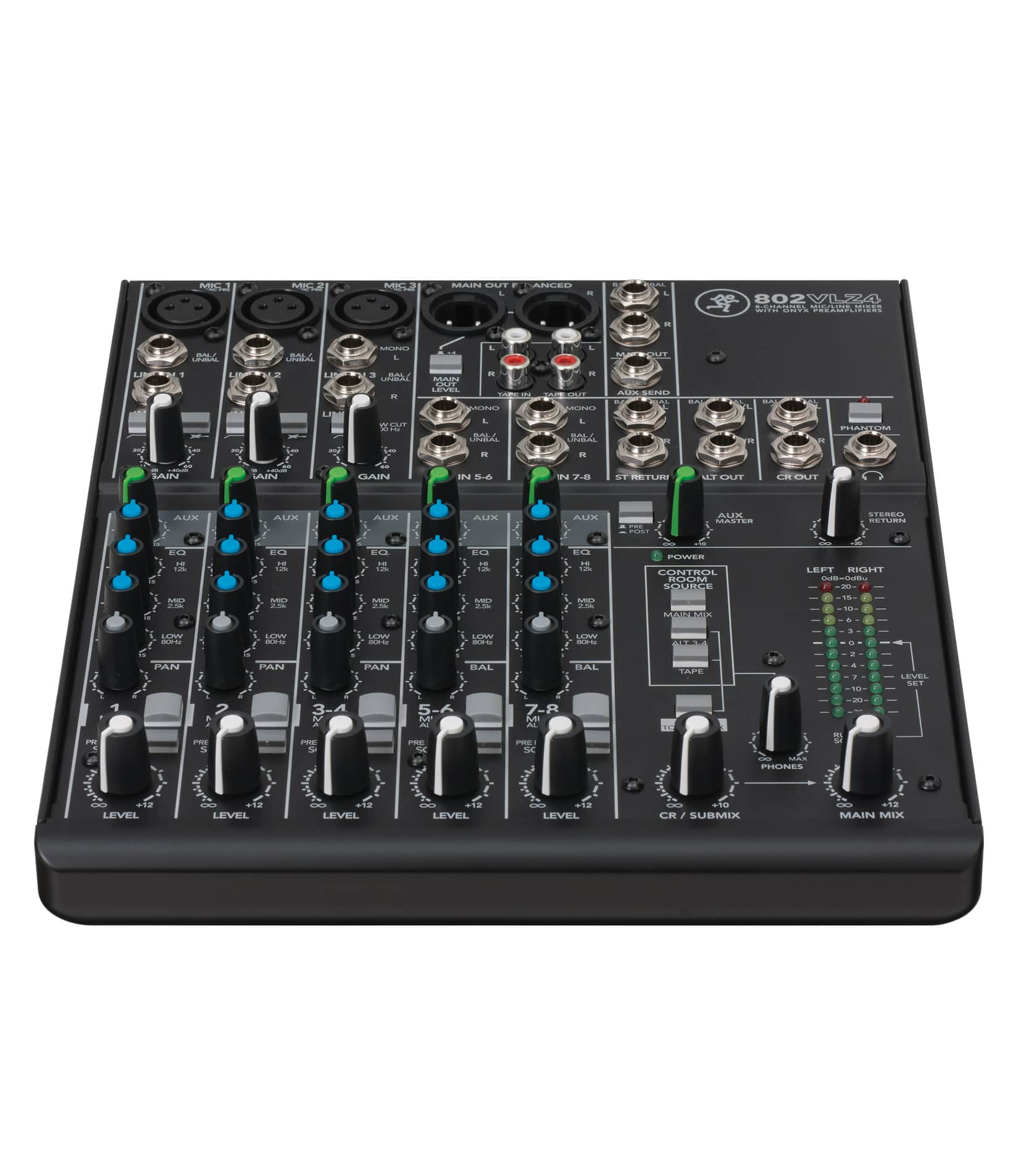 802VLZ4 8 channel Ultra Compact Mixer - Buy Online