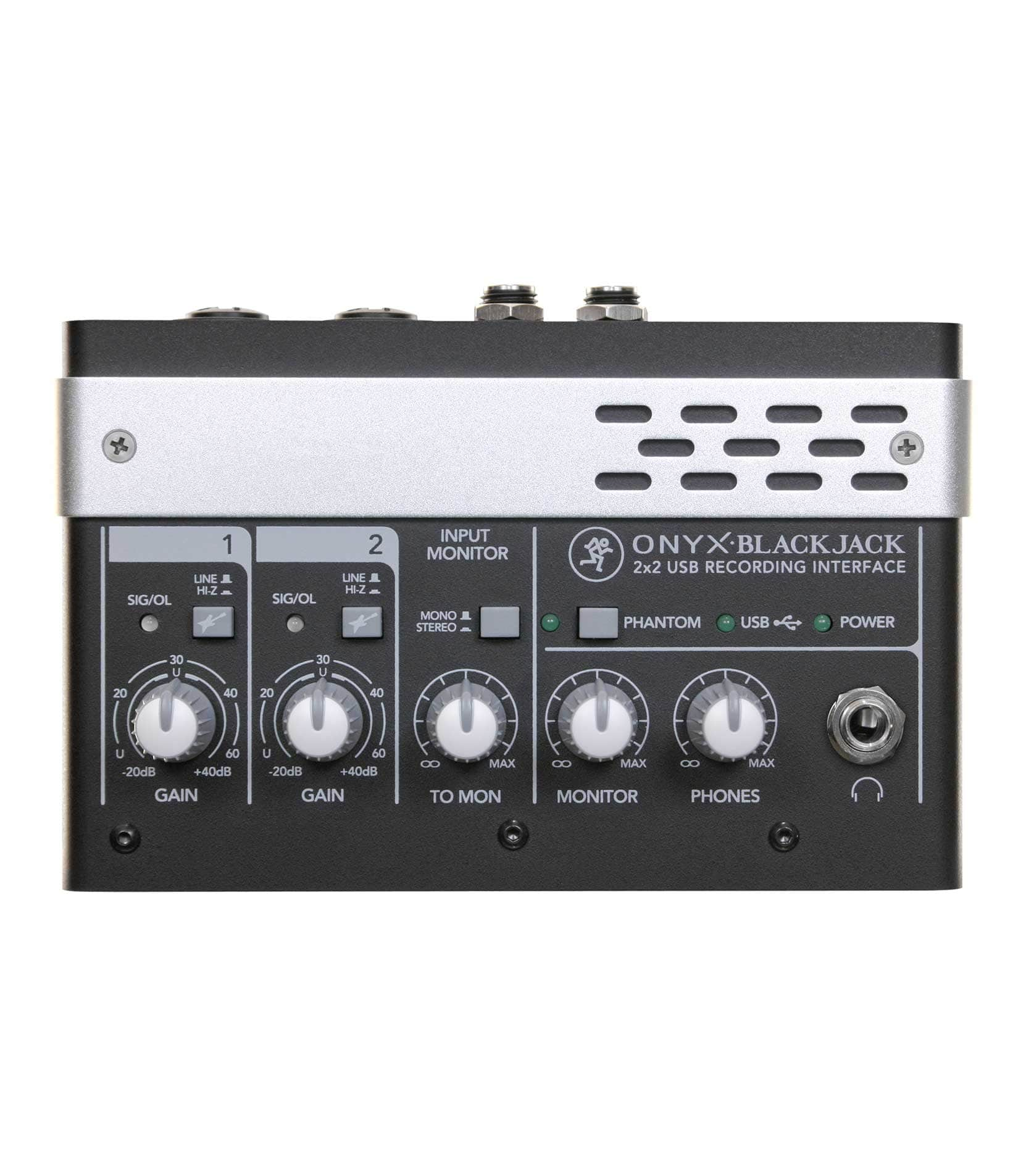 2x2 USB Audio Interface with MIDI
