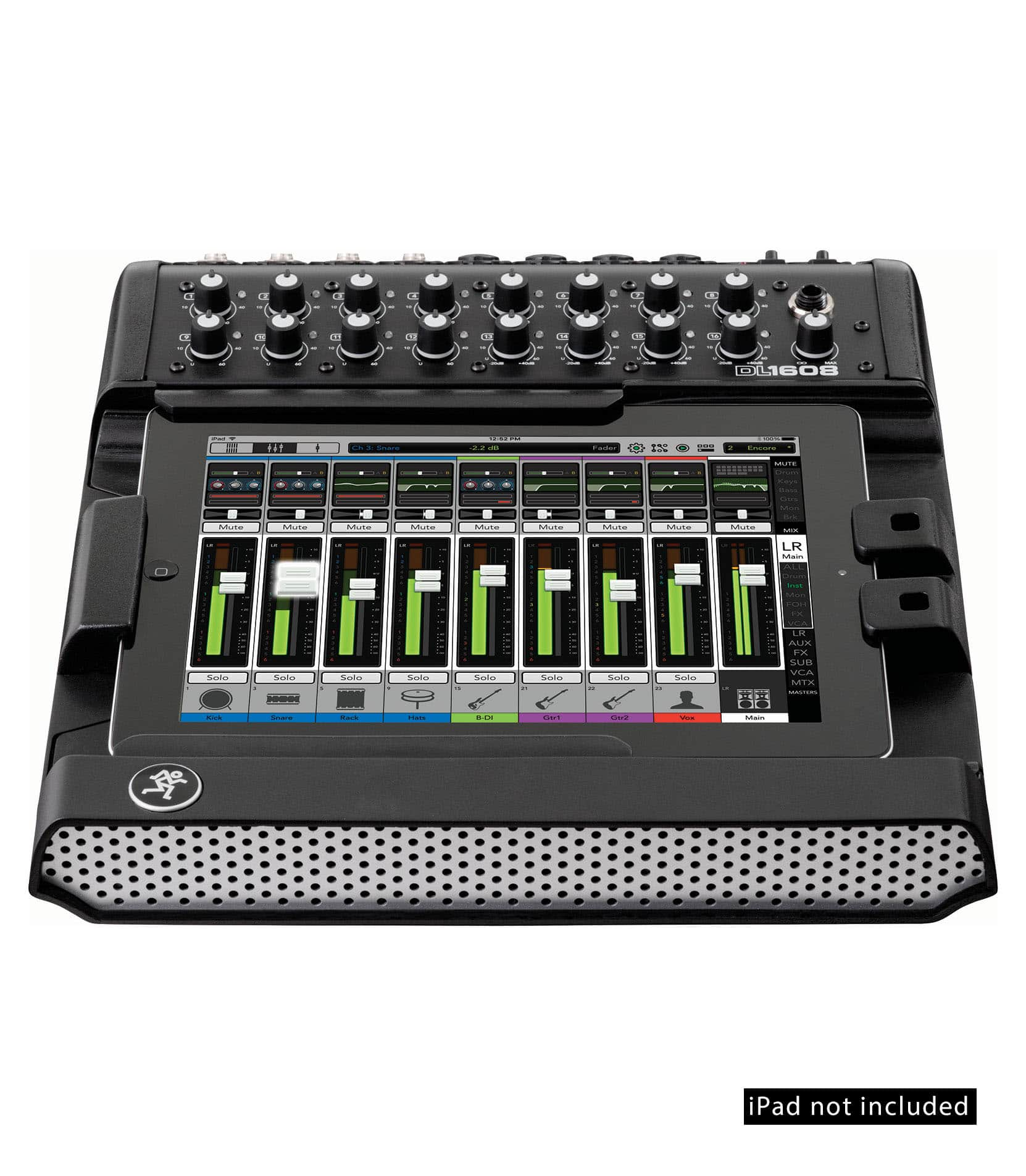 DL1608 16 channel Digital Live Sound Mixer