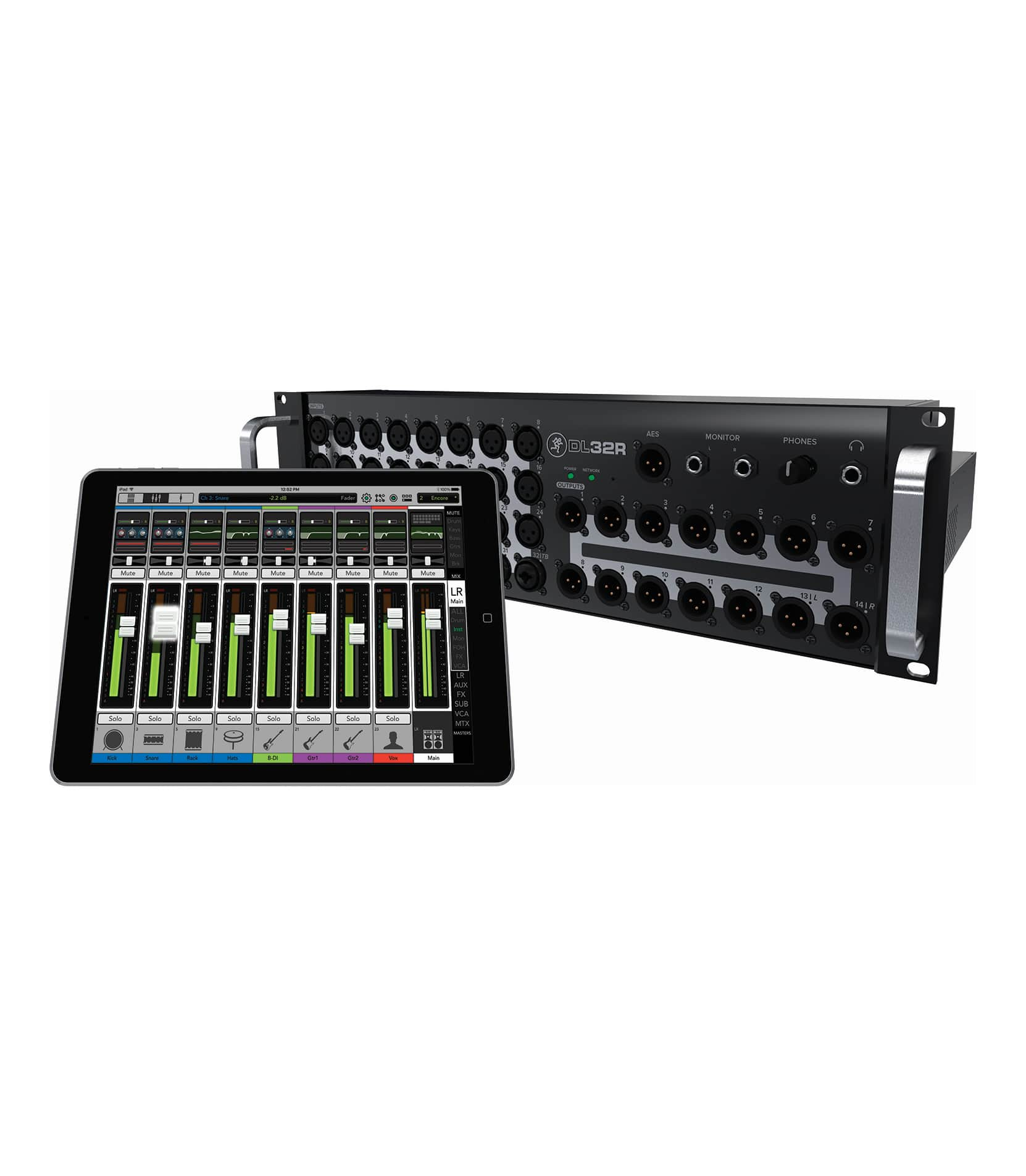 DL32R 32channel Wireless Digital Live Sound Mixer - Buy Online