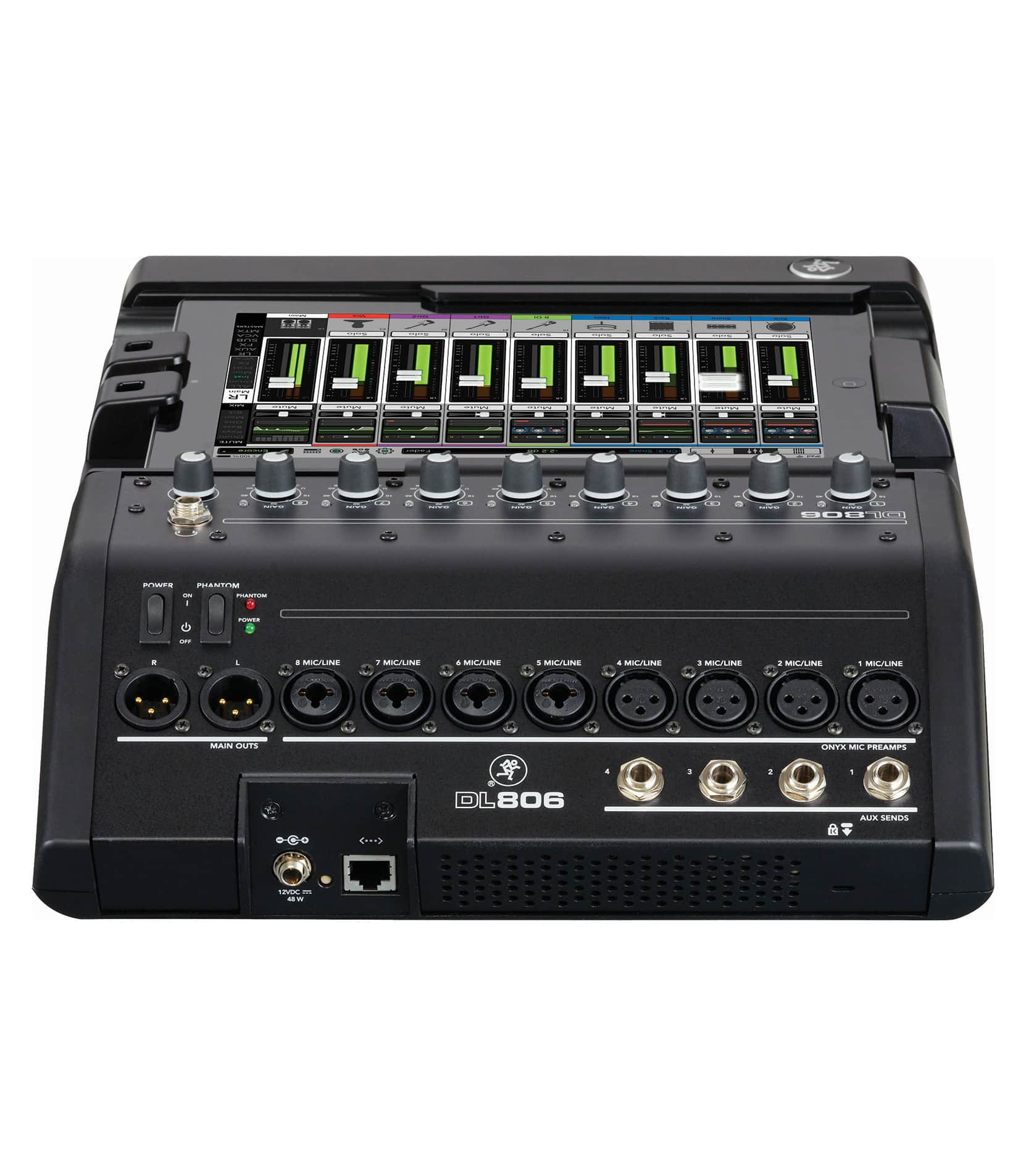 DL806 8 Channel Digital Live Sound Mixer - Buy Online
