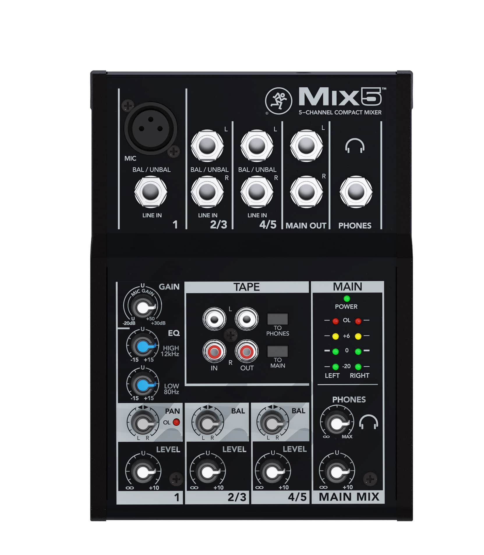 buy mackie mix5