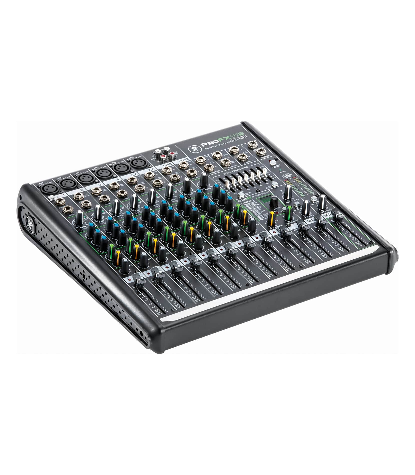 Mackie - ProFX12v2 UK 12channel Professional Effects Mixer - Melody House