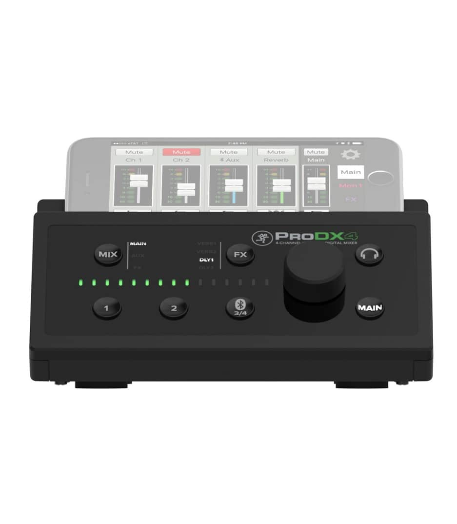 ProDX4 UK 4 Channel Wireless Digital Mixer