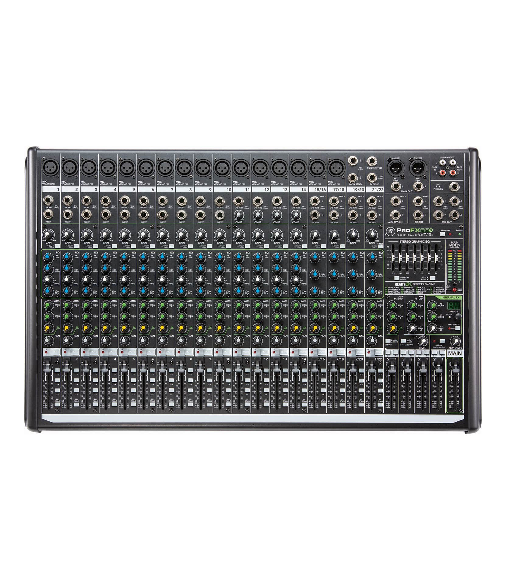 ProFX22v2 UK 22 channel 4 Bus Effects Mixer