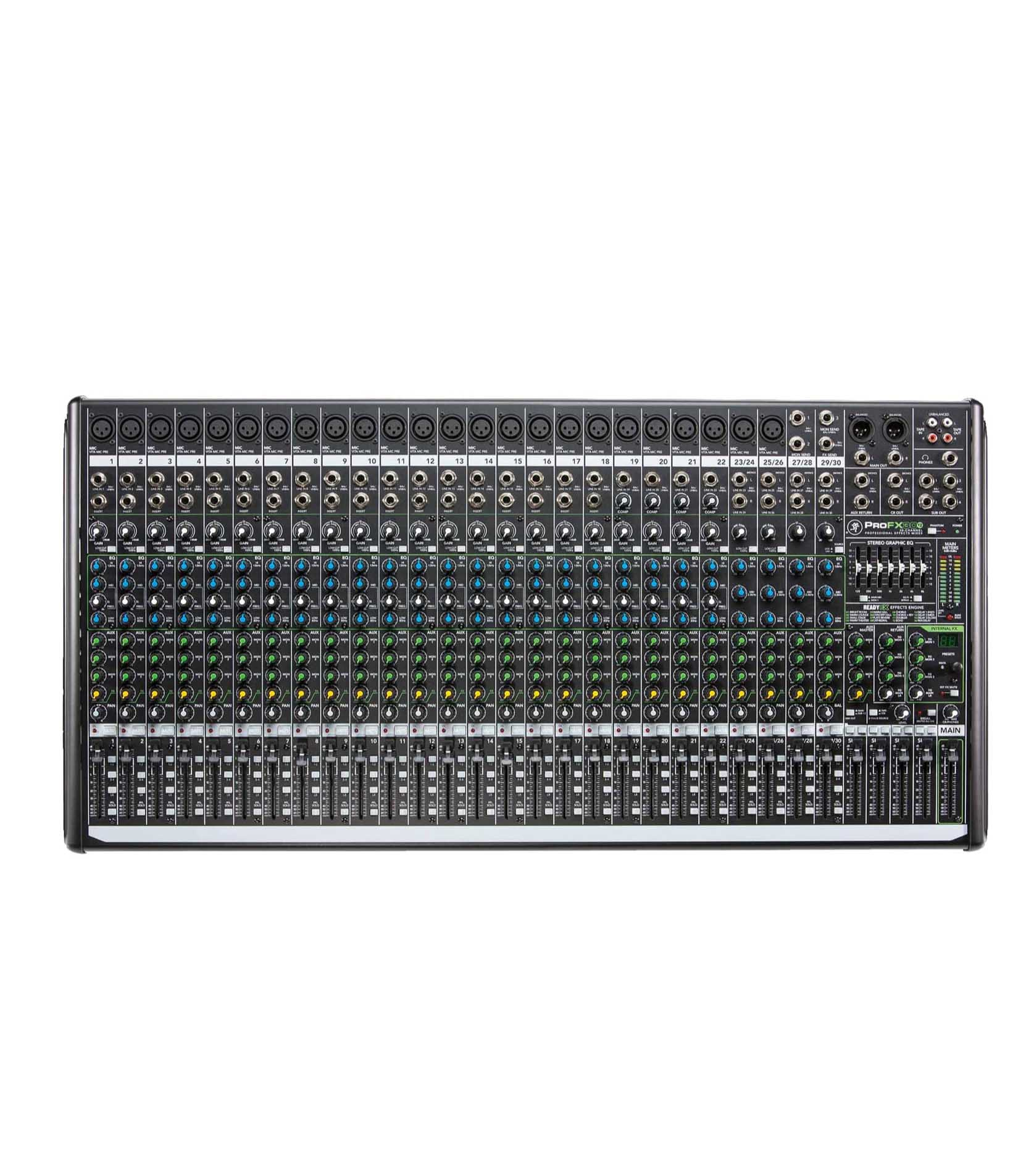 Buy Mackie ProFX30v2 UK30 channel 4 Bus Effects Mixer Melody House