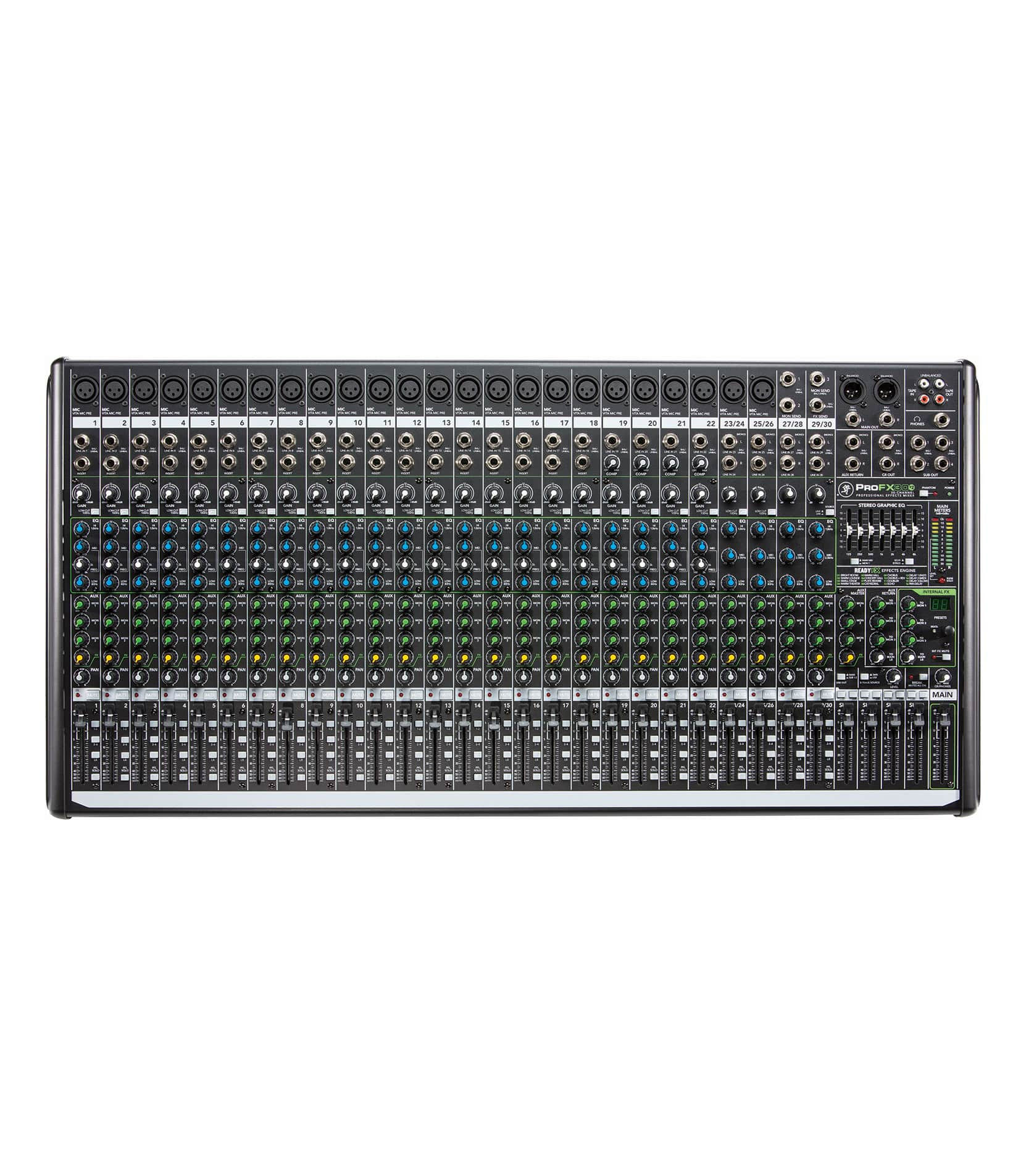 ProFX30v2 EU 30 channel 4 Bus Effects Mixer with U