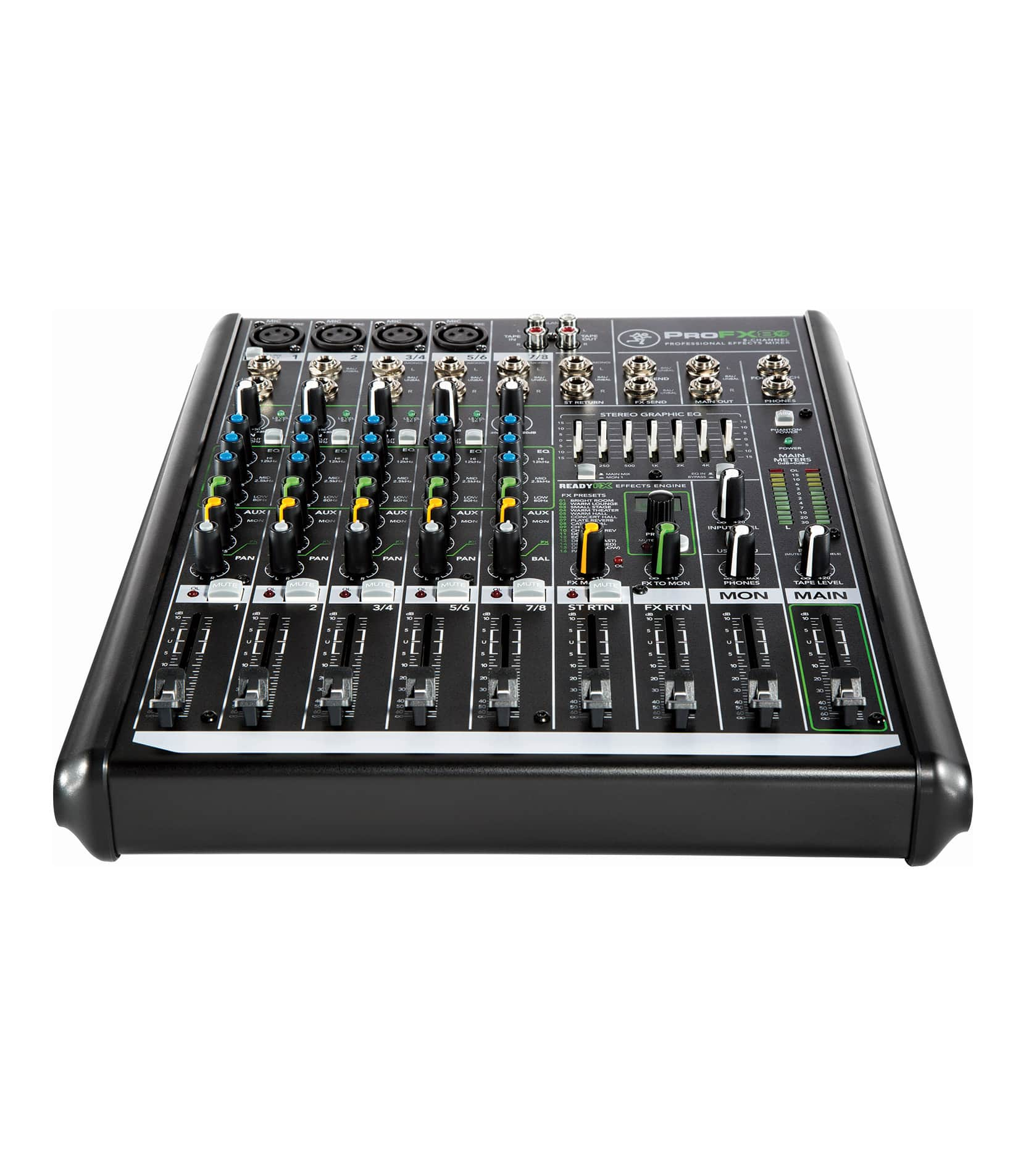 mackie - ProFX4 V2 4 Channel Effects Mixer UK Plug - info@melodyhousemi.com