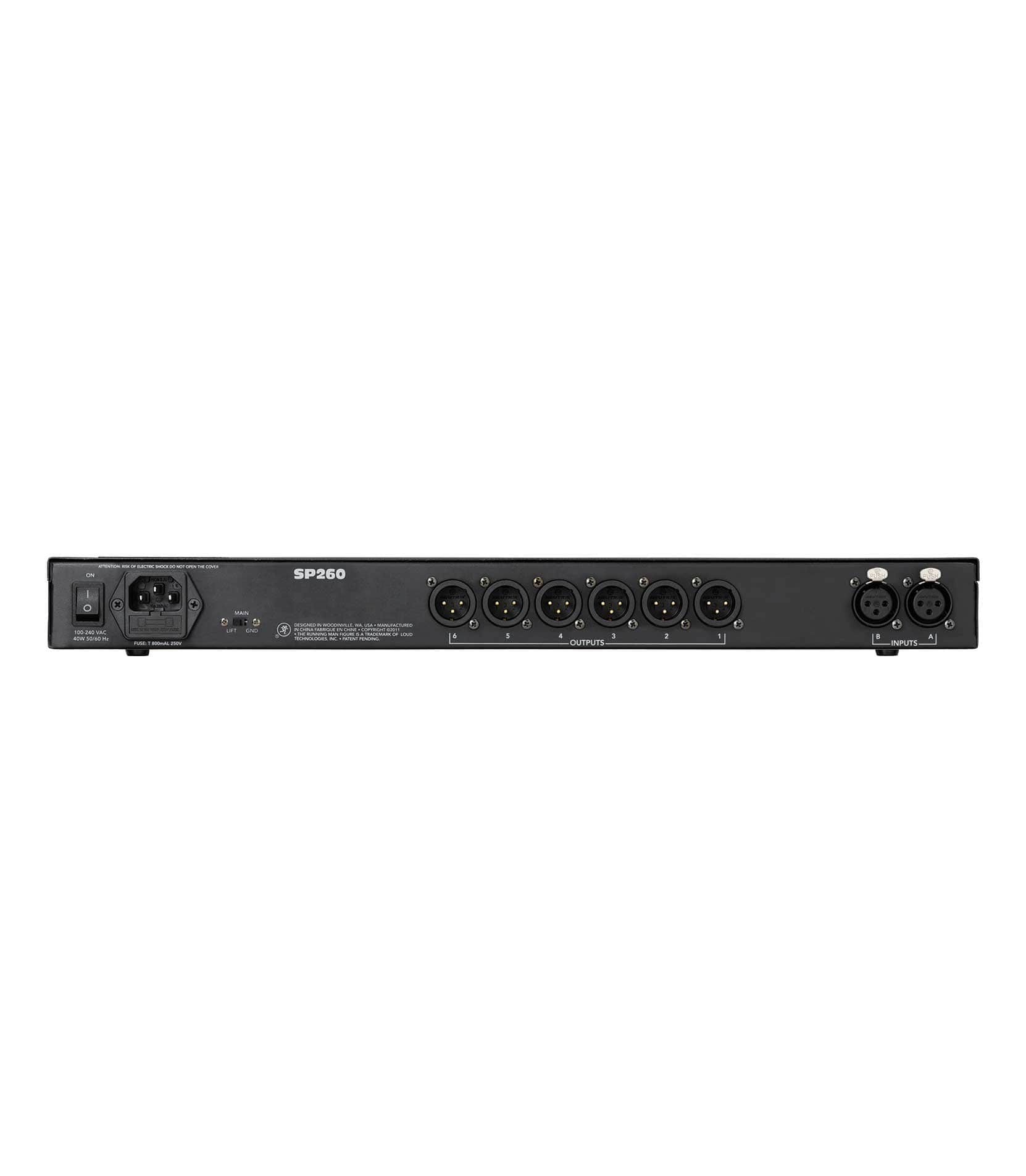 SP260 2x6 Loudspeaker System Processor - Buy Online