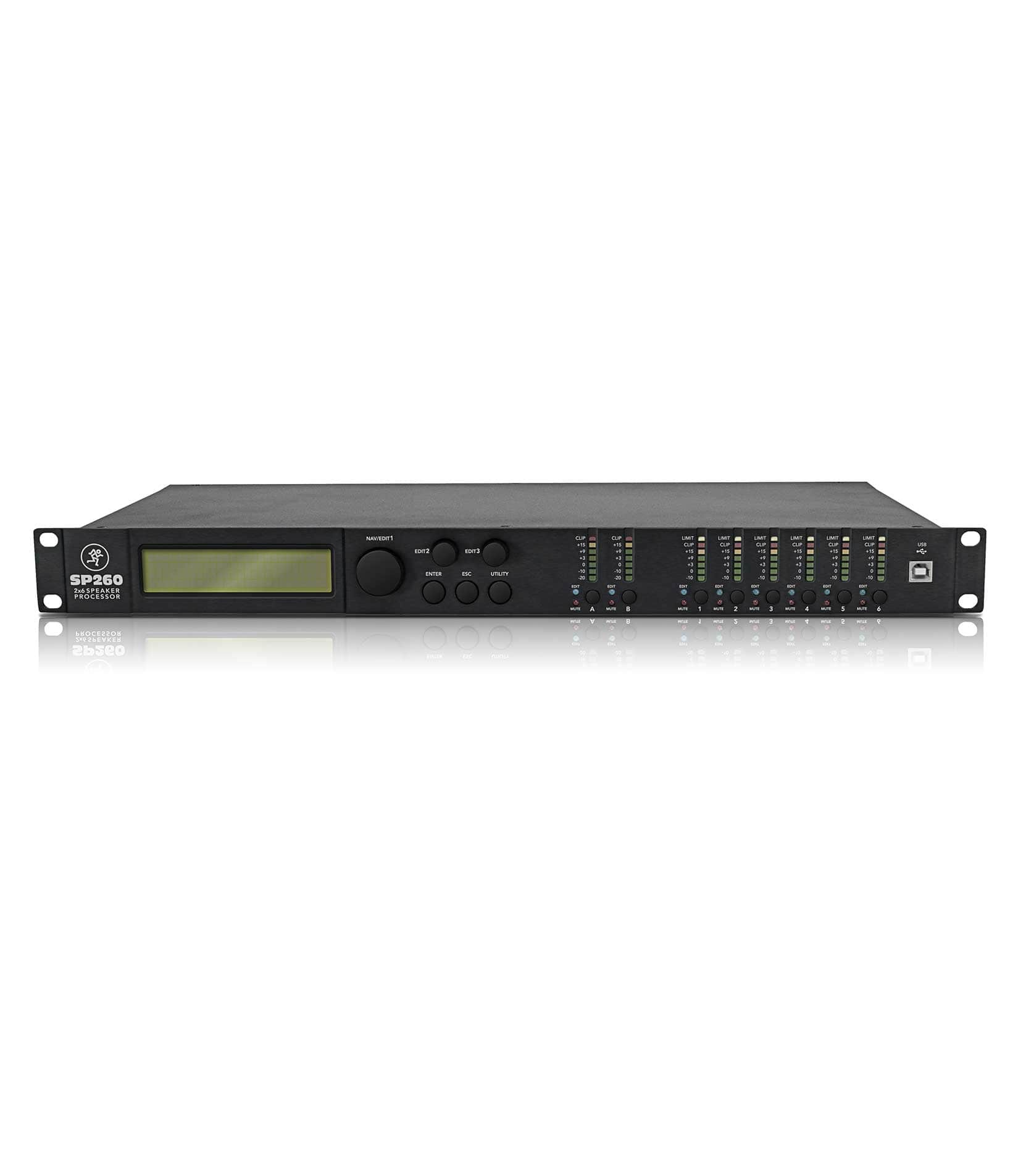 SP260 2x6 Loudspeaker System Processor