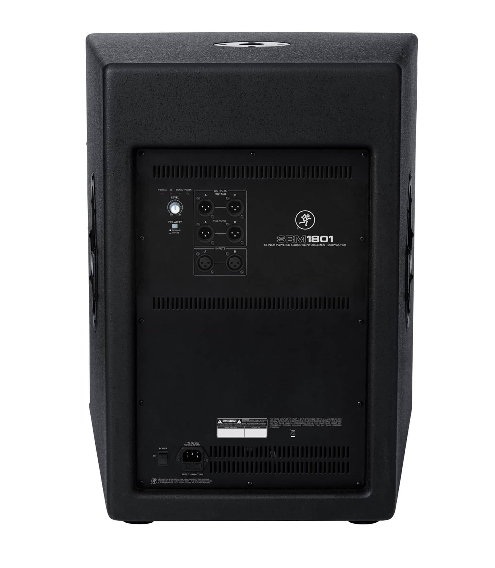 SRM1801 18 Powered SR Subwoofer 1000W - Buy Online