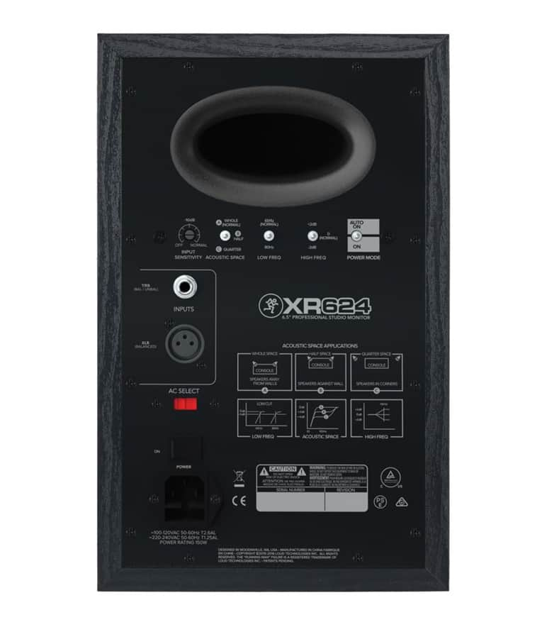 XR624 6 5 Professional Studio Monitor Single - Buy Online