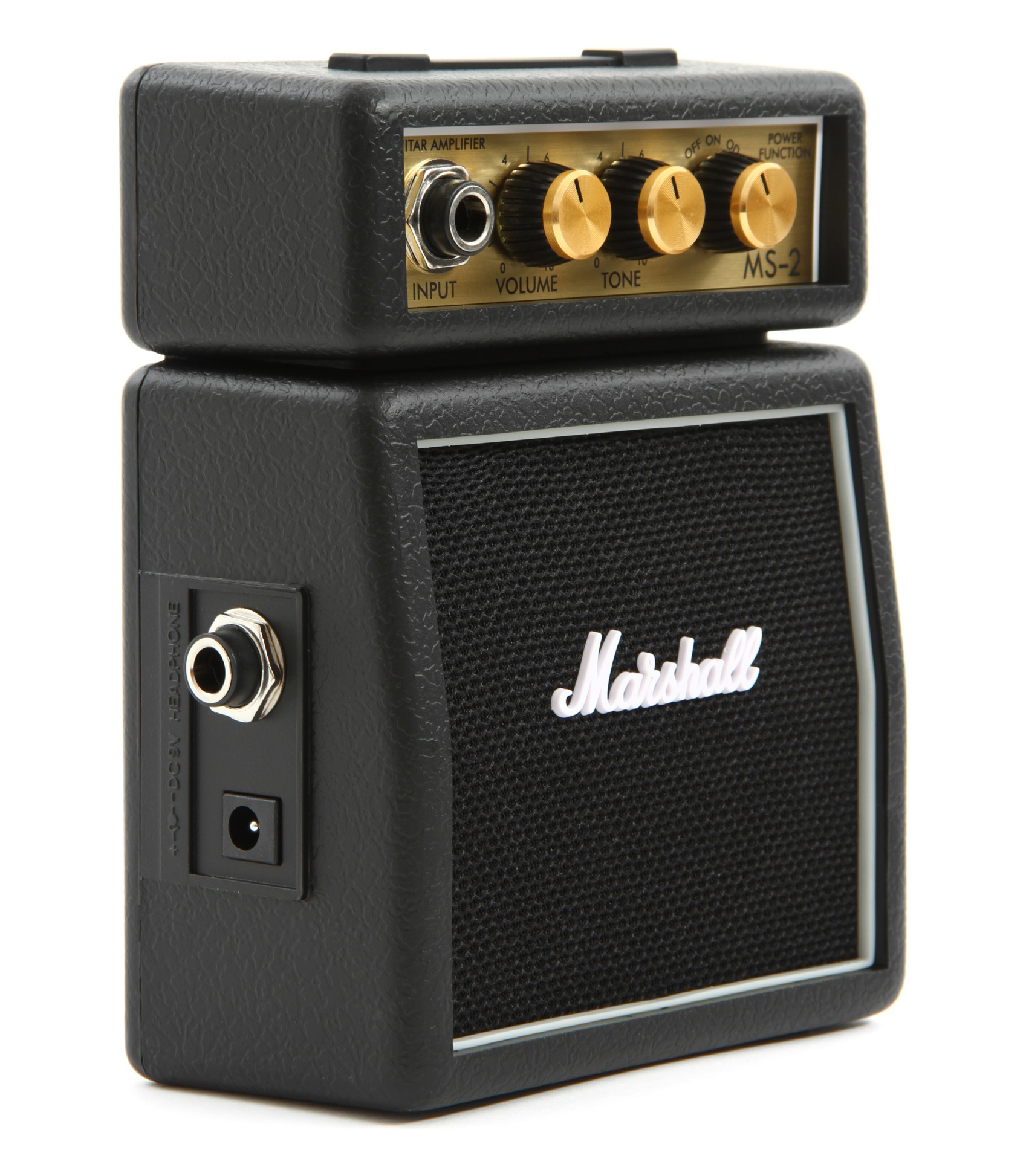 Marshall - MS 2 Mighty Mini Guitar Amp 1W Black Color - Melody House