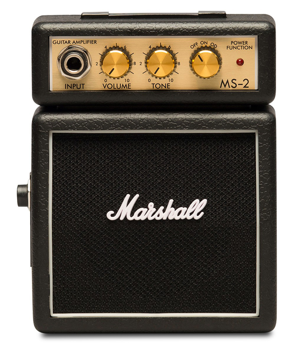 Buy marshall MS 2 Mighty Mini Guitar Amp 1W Black Color Melody House