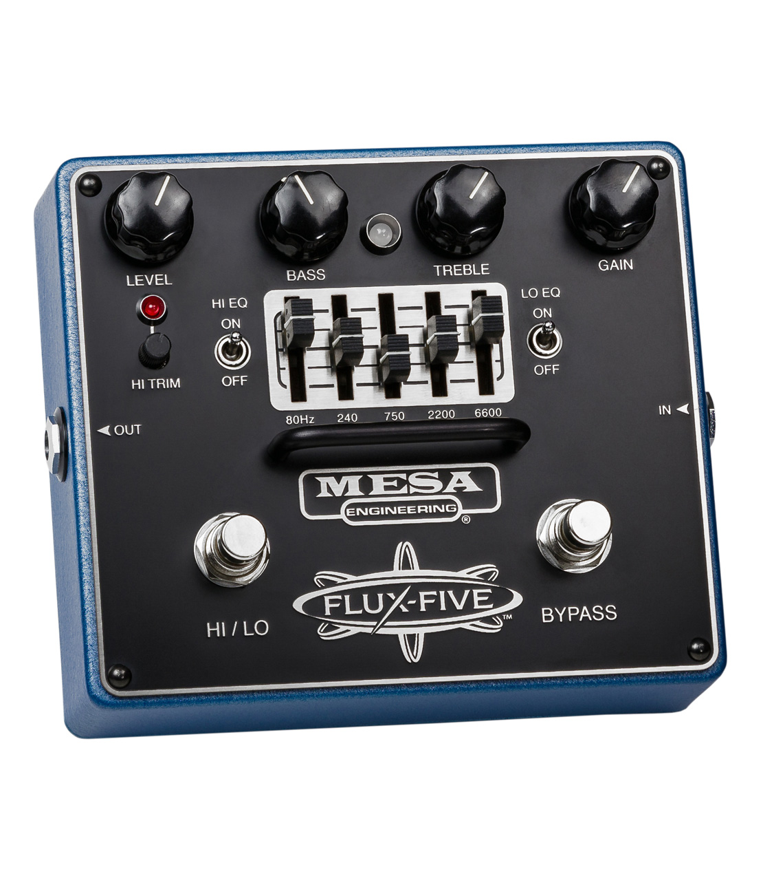 Melody House Musical Instruments Store - Flux Five Overdrive Pedal