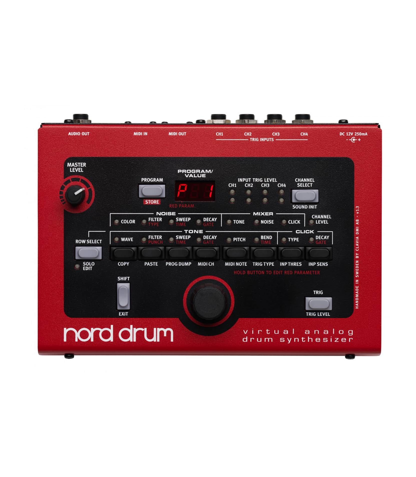 buy nord nord drum virtual analog drum synthesizer