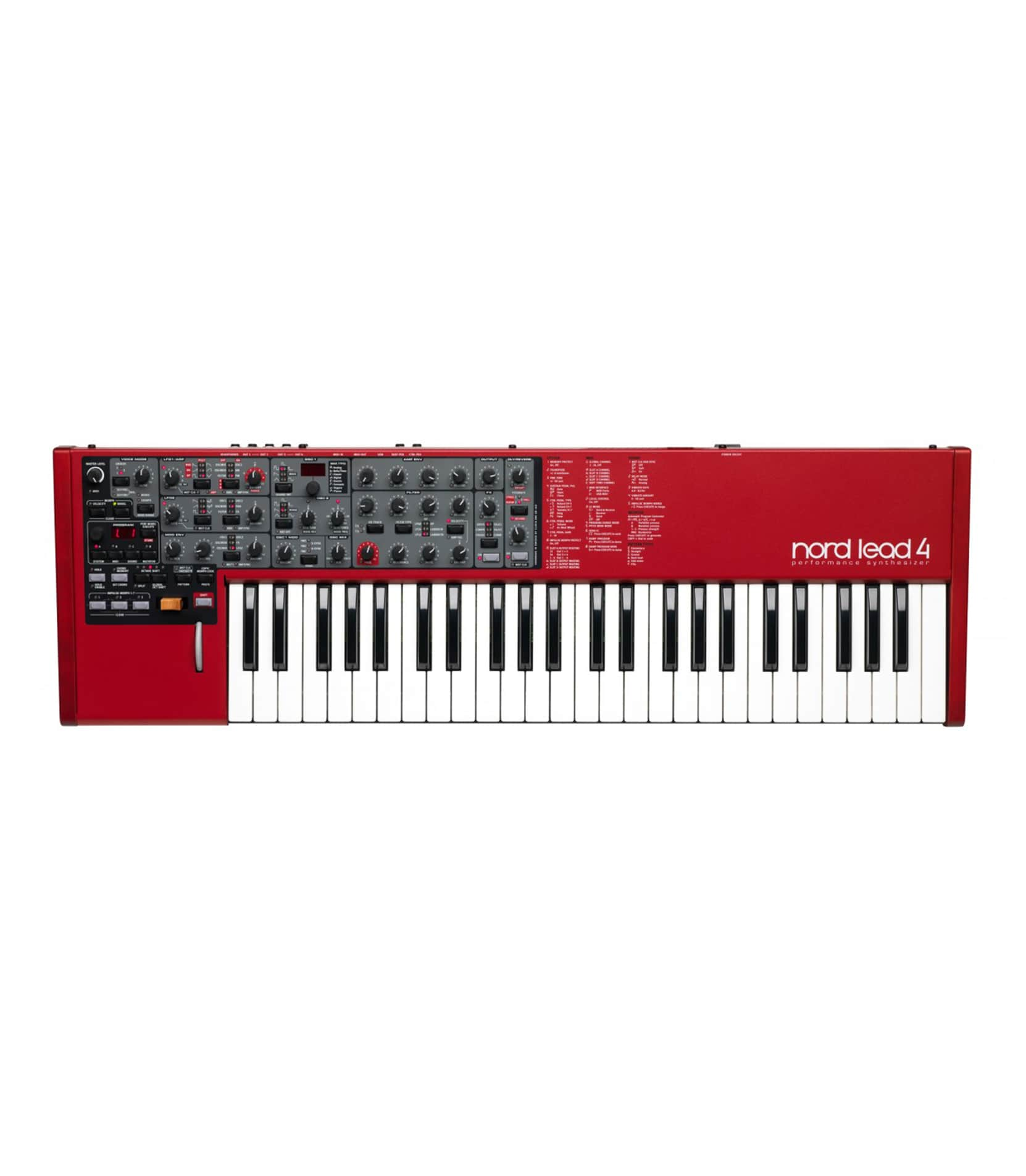 Buy nord Lead 4 Performance Synthesizer Melody House