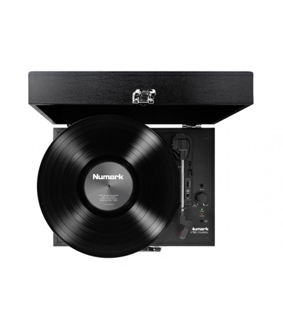 Numark - PT01TOURING Classically styled Suitcase Turntable - Melody House