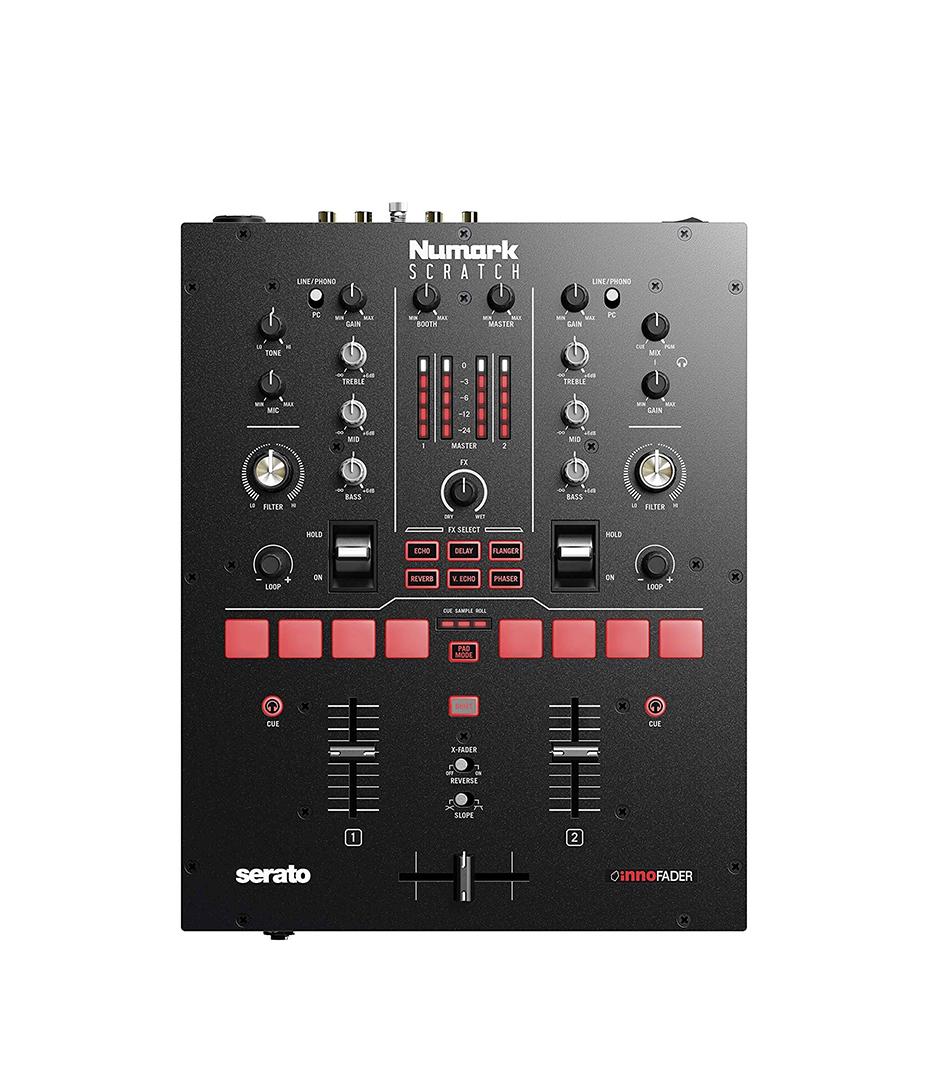 buy numark scratch serato 2 channel dvs ready mixer