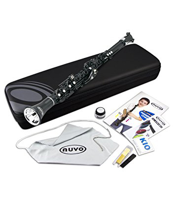 Buy nuvo Clarinéo Standard Kit Black Steel Melody House