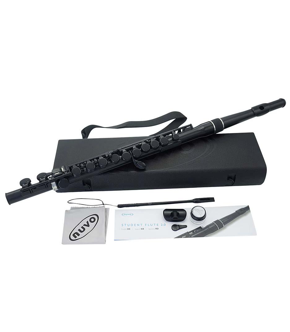 Nuvo - N230SFBK Student Flute Black
