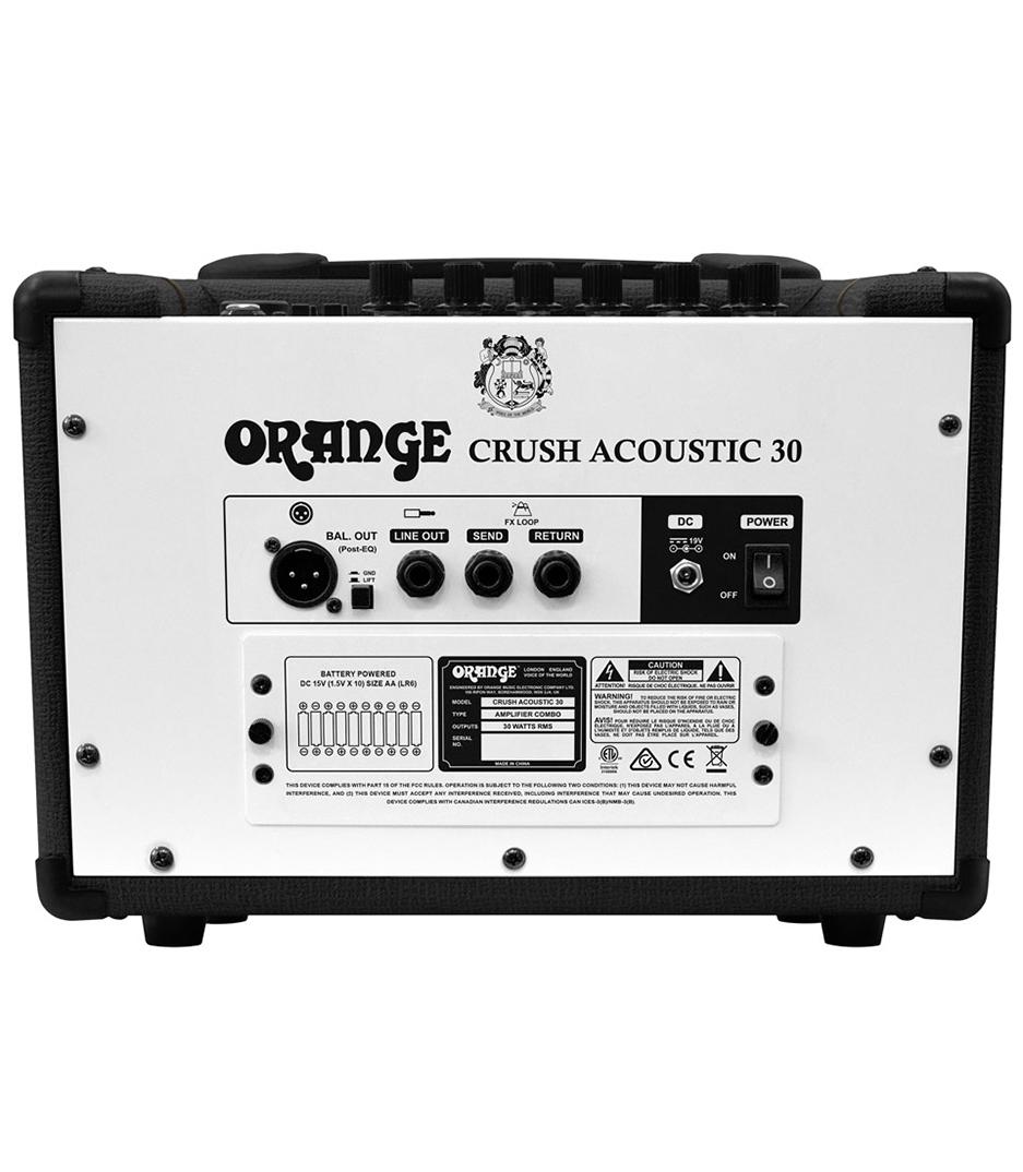 Buy Online CRUSH-ACOUSTIC-30-BK - Orange