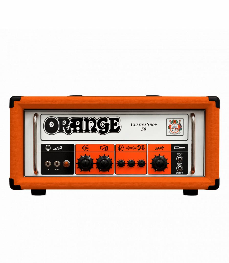 buy orange custom shop 50 v2 guitar amp 50 30 watt