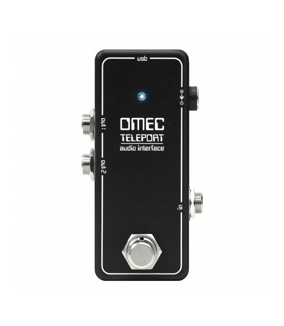Buy orange music OMEC Teleport Guitar Audio Interface Melody House