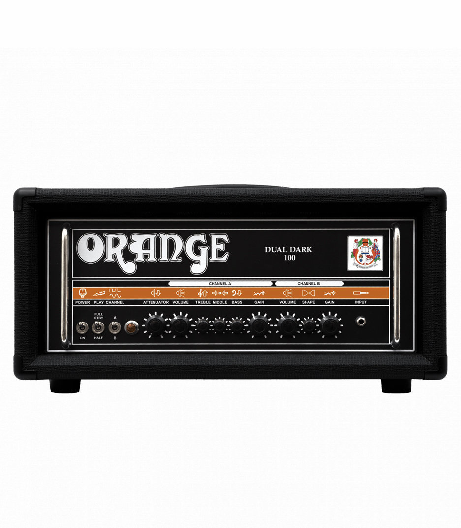 buy orange dual dark 100 guitar amp 100 70 50 30 watt