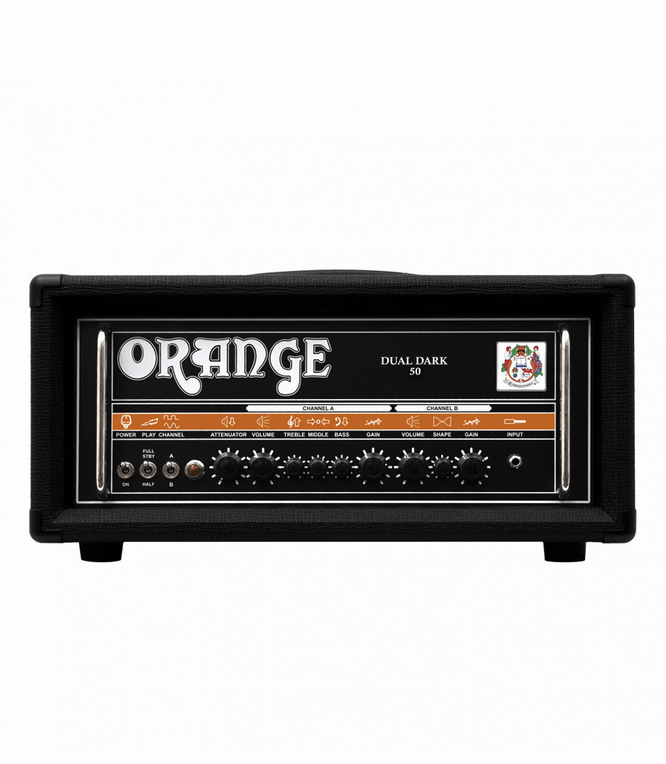 buy orange dual dark 50 guitar amp 50 25 watt
