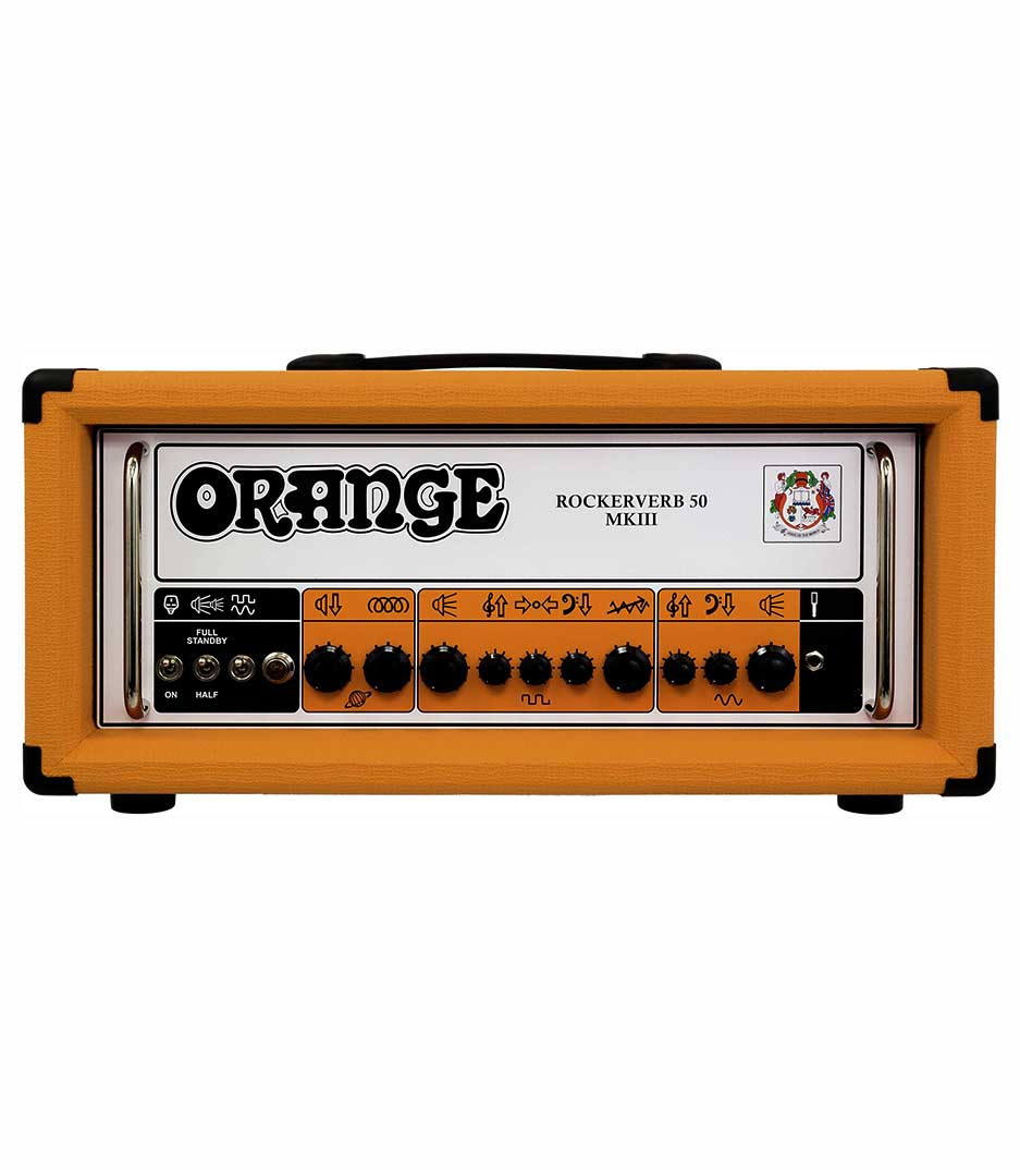 Buy orange music Rockerverb 50H MKIII Guitar Tube Amp 50 Watt Melody House