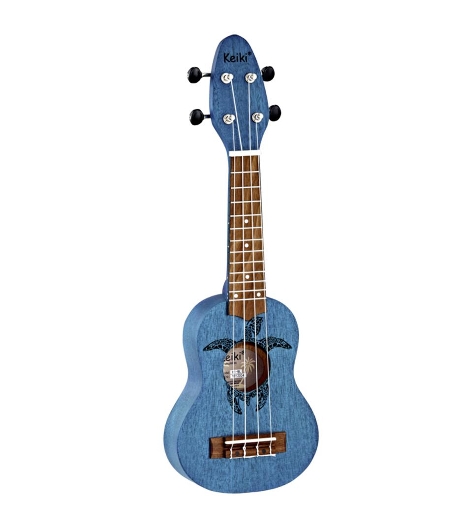 Ortega - K1 BL Keiki Soprano Ukulele Satin Ocean Blue Finis
