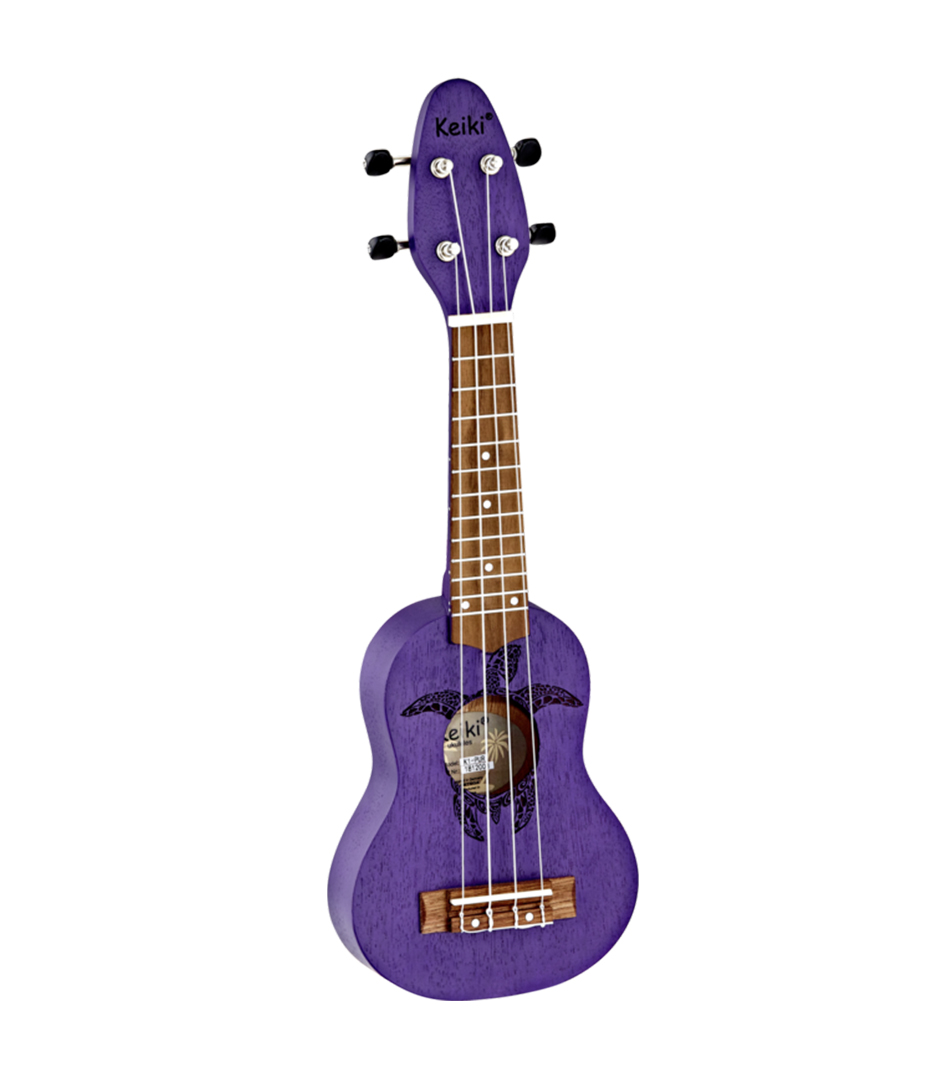 Buy Ortega - K1 PUR Keiki Soprano Ukulele Satin Purple Finish